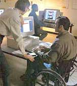 disabili sedia rotelle