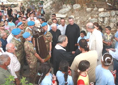 Farina in Libano P.Pio