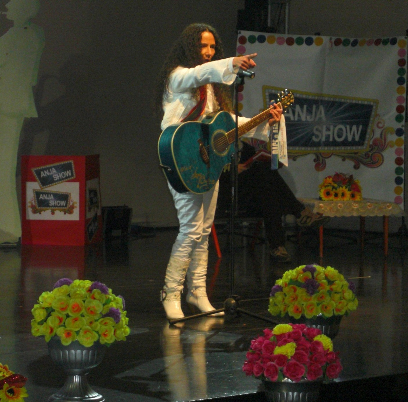 Agnese Ginocchio Ospite Anja Show