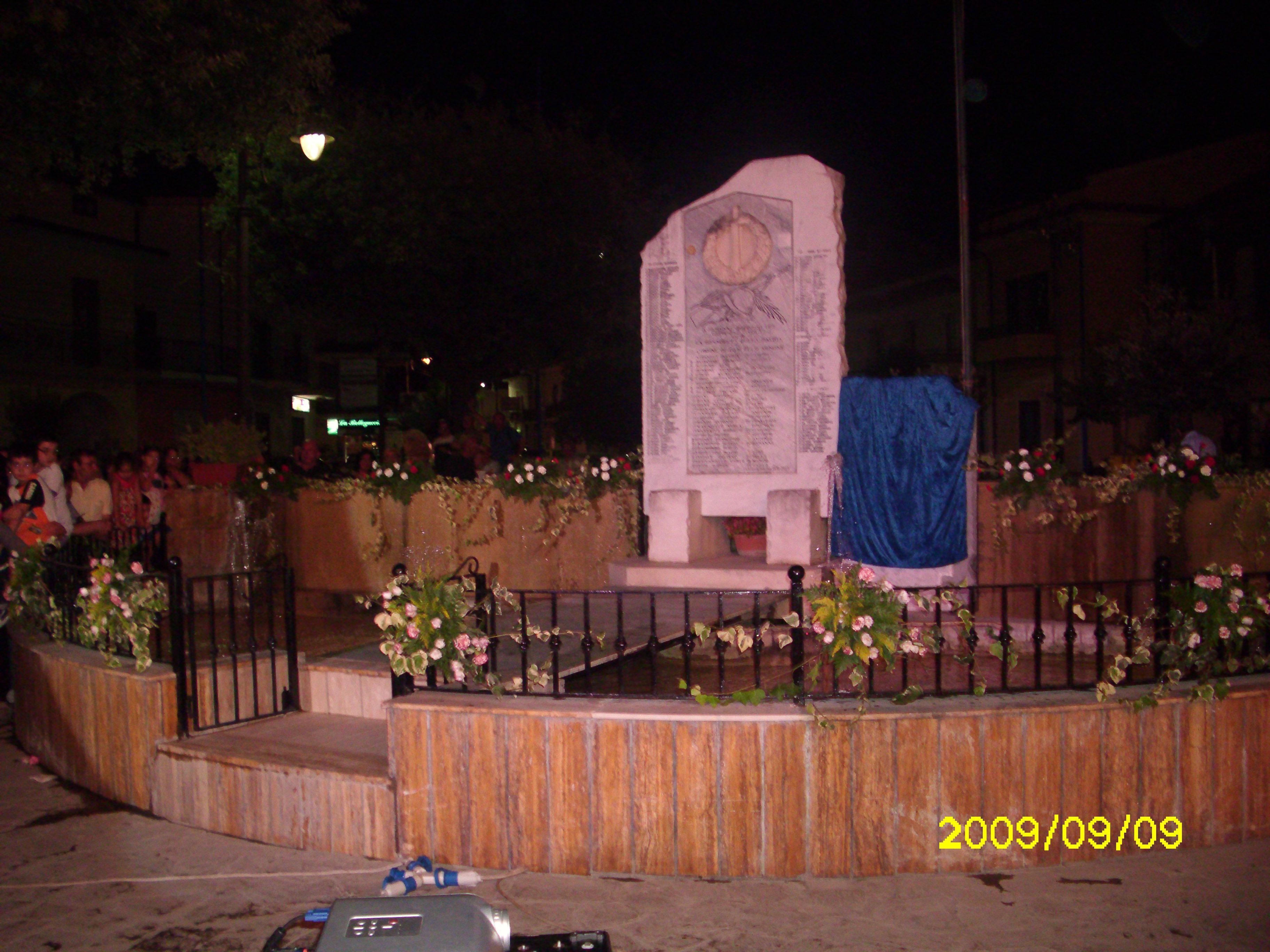 Cancello A.Monumento