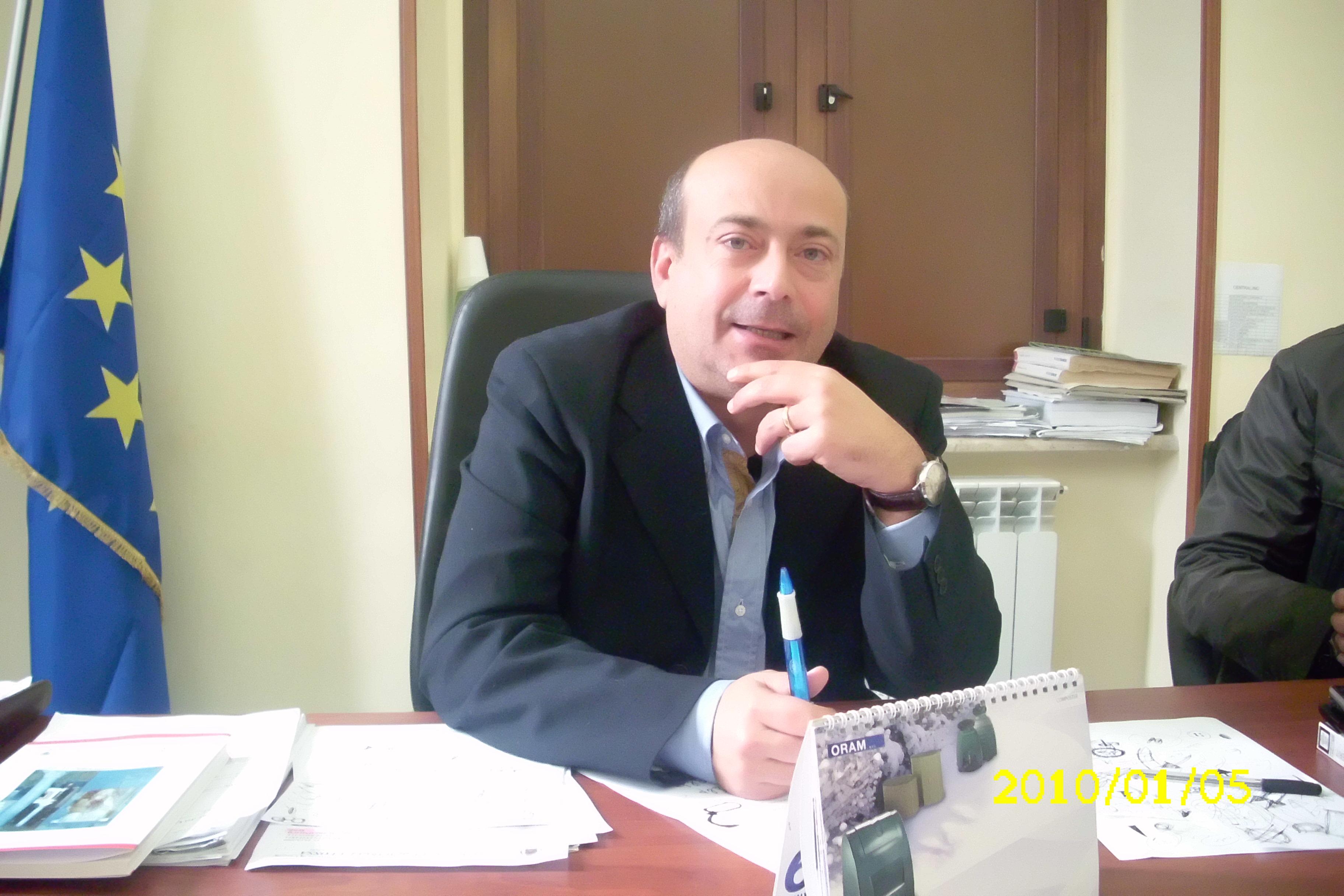 Papa Antonio sindaco S.M.La Fossa