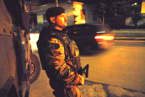 Esercito, militare di Strade Sicure in pattuglia