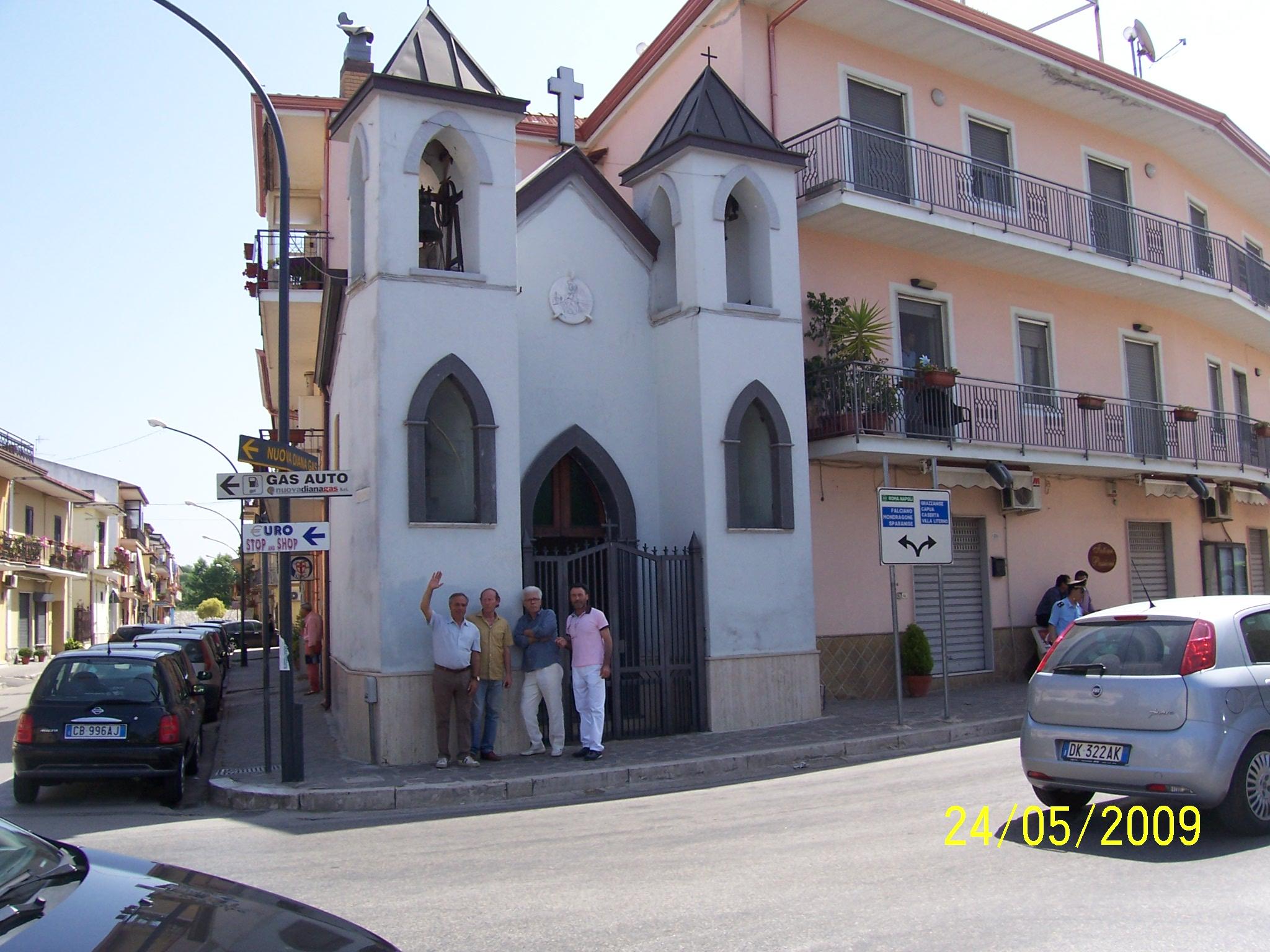Cancello ed Arnone cappella S.Rocco