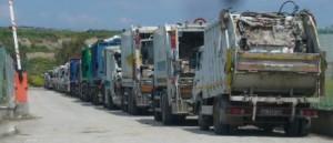 Rifiuti camion