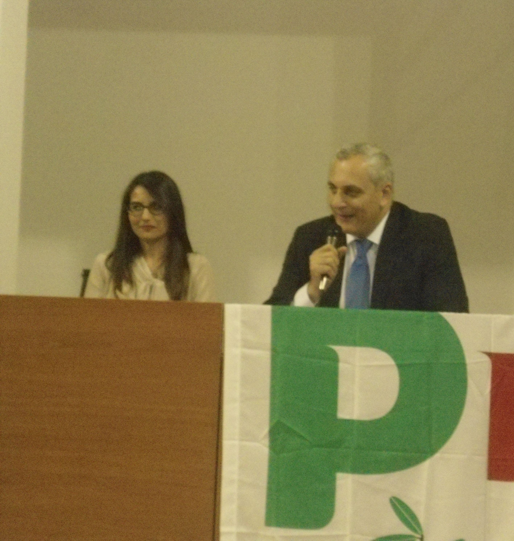 Teresa Cerchiello e Nicola Caputo
