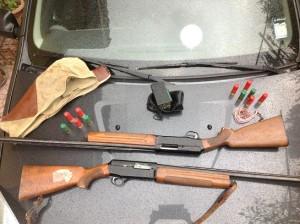 Armi sequestrate da Guardie giurate dell'EMPA