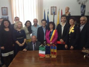 Delegazione in Romania
