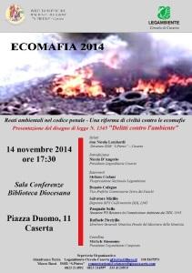 LOCANDINA Invito Ecomafie