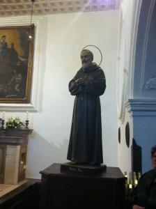 Cappella Pietrelcina dove fu battezzato P.PIO