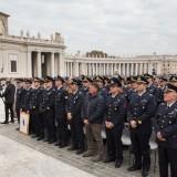 Il personale del 9° Stormo durante l'Udienza Papale (1)X