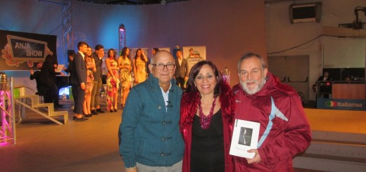 CASERTA Al centro dell'immagine Giovanna Paolino, ospite della rete televisiva Italiamia - Copia