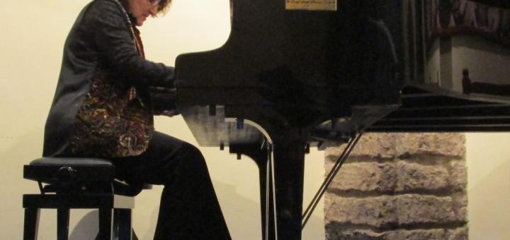 La pianista Rossella Vendemia