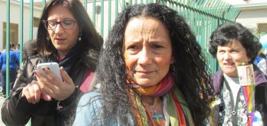 Agnese Ginocchio al centro dell'immagine