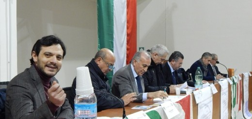 GRAZZANISE Da sx Cerrito, Papa, Gravante, Caputo, Alfieri, Schiappa e Ricciardone 120316
