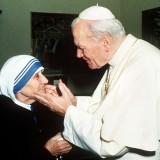 Madre Teresa e il Papa