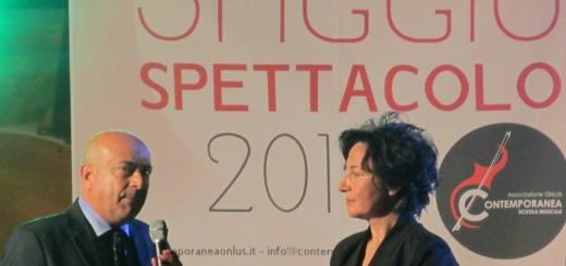 CONTEMPORANEA La presidente Miele col dott Papa al Saggio 2014