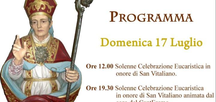 Festa di San Vitaliano 2016