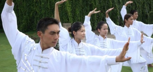Tai Chi at the Brilliant Resort & Spa in Kunming, Yunnan Province, China
