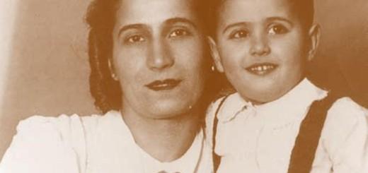 Sergio De Simone con la madre Gisella