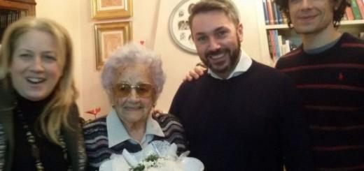 MARIA GATTI, 103 ANNI