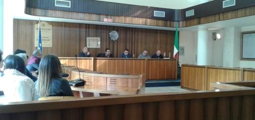 Un momento dell'assemblea di costituzione del consorzio turistico appia presso comune di Portico di Caserta