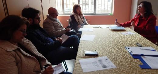 GRAZZANISE Un momento della conferenza-stampa di presentazione del convegno