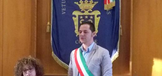 L SINDACO MARTIELLO, CON ELIANA VELTRE 1