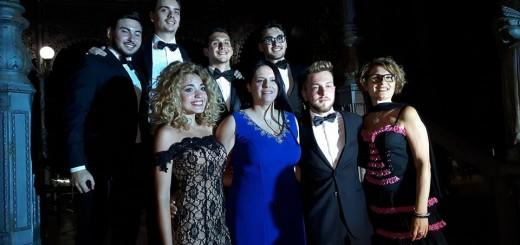 Teresa Sparaco con ll gruppo 2