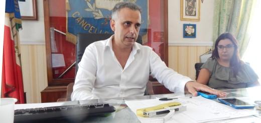 C.ARN Il sindaco Pasqualino Emerito in conferenza-stampa per la XL Festa della Mozzarella