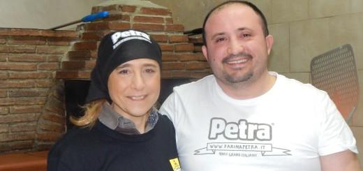 Luca Doro con Paola Quartuccio