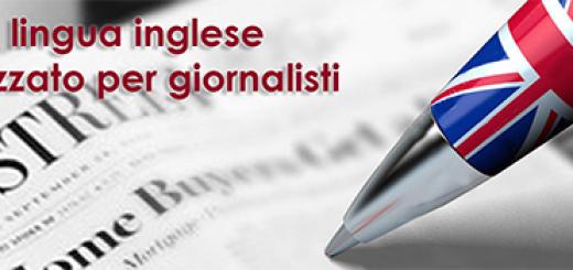 GIORNALISTI CORSO INGLESE