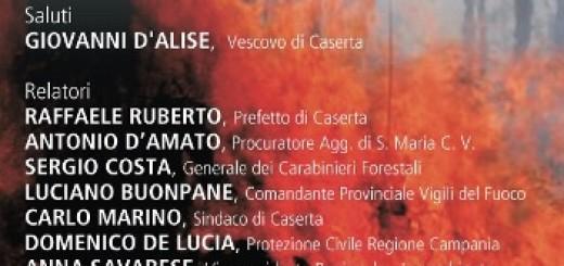 Locandina - Colli Tifatini in Fiamme