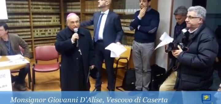Vescovo di caserta Giovanni D'Alise