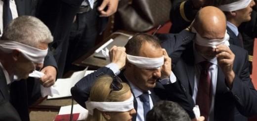 Senatori bendati
