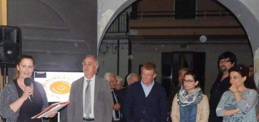 GRAZZANISE Il sindaco Gravante ed altri amministratori al Circolo degli anziani per la Festa della Mamma 2016