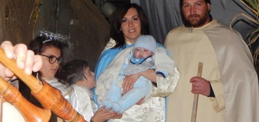GRAZZANISE La Sacra Famiglia al Presepe Vivente del 26 dicembre 2017