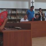 GRAZZANISE Un'immagine della più recente seduta Consiglio comunale che risale al 31 luglio 2017
