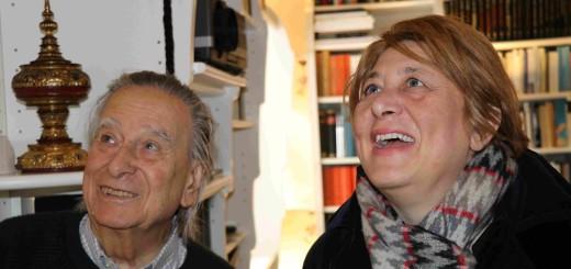 Paolo Portoghesi e Alessandra Pandolf