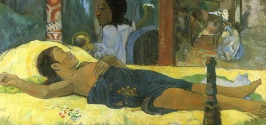 Paul_Gauguin La nascita di Cristo