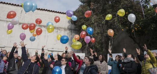 Casal di Principe, Italia - 20 Dicembre 2017 - Inaugurazione del punto luce di save the children presso un bene confiscato alla criminalità organizzata. Ph.Giulio Piscitelli