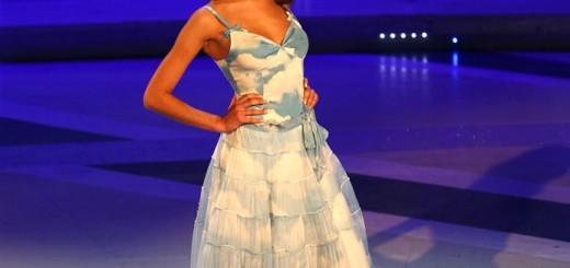 la modella Eleonora Arganese