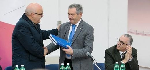 il Sindaco Velardi ed il presidente FIS Scarso
