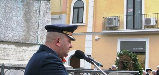Allocuzione Primo Maresciallo Cesare Salomone pronipote dela Medaglia d'oro