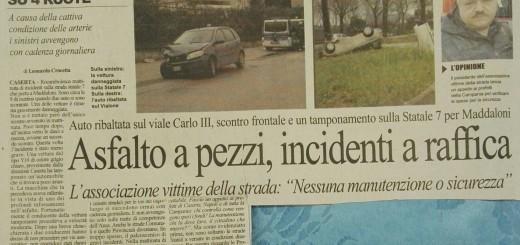 Giornale Cronache di Caserta Giorno 21 02 2018