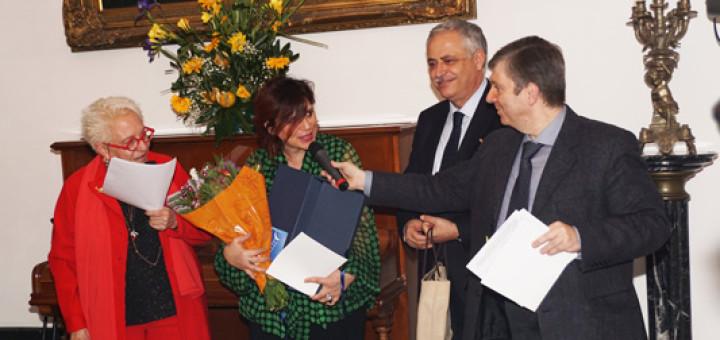 Anna Maria Ghedina, Gabriella Buontempo, assessore Nino Daniele e Antonio D'Addio