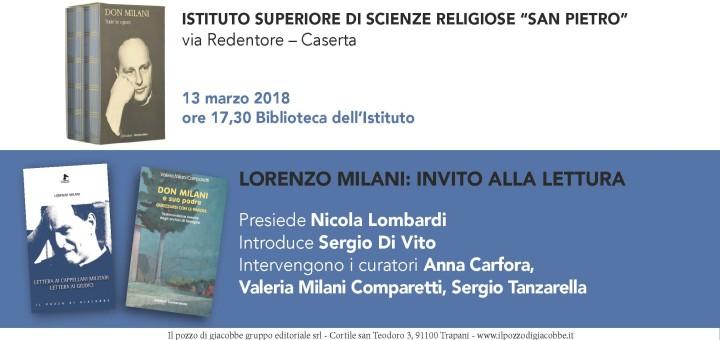Mar 13 marzo - don Milani CE Invito