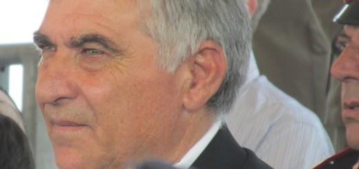 GRAZZANISE Il vicesindaco ed assessore Marcello Vaio ad una cerimonia al Rua di Capua 240715
