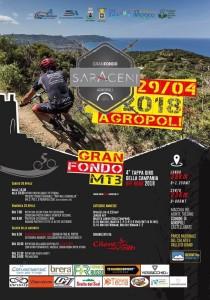 Granfondo Mtb dei Saraceni 29042018 locandina