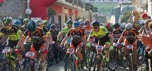 Visciano Bike Marathon 2016 la partenza (1)