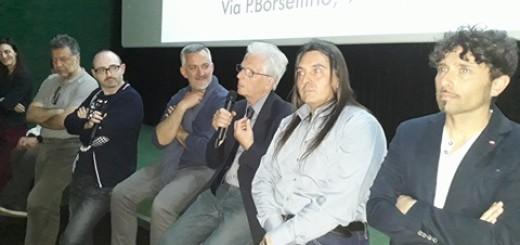 un momento della conferenza stampa 3